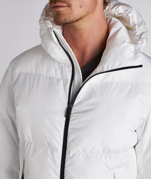 Water-Repellent Puffer Jacket picture 5