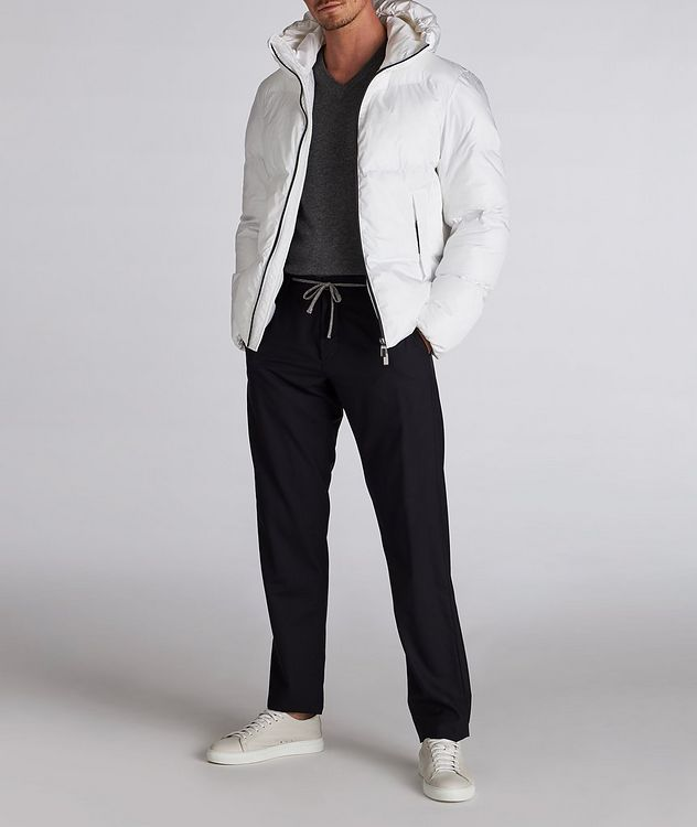 Water-Repellent Puffer Jacket picture 6