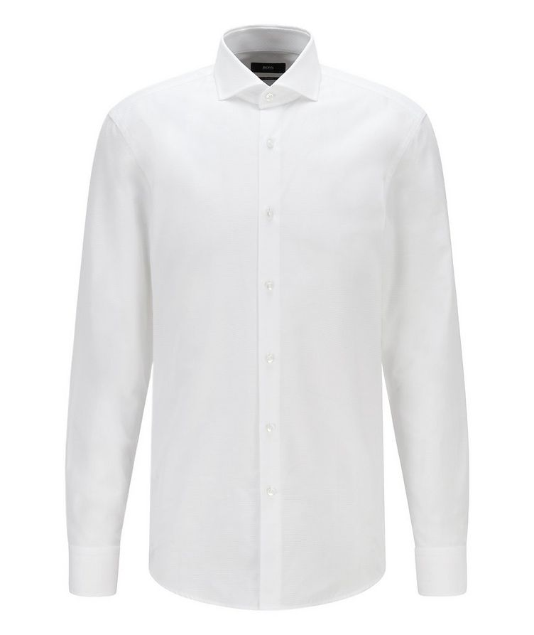 Jason Slim-Fit Cotton Dress Shirt image 0