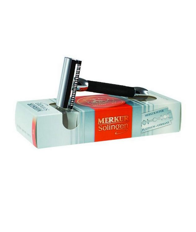Travel Size Double Edge Safety Razor, Straight Cut picture 3