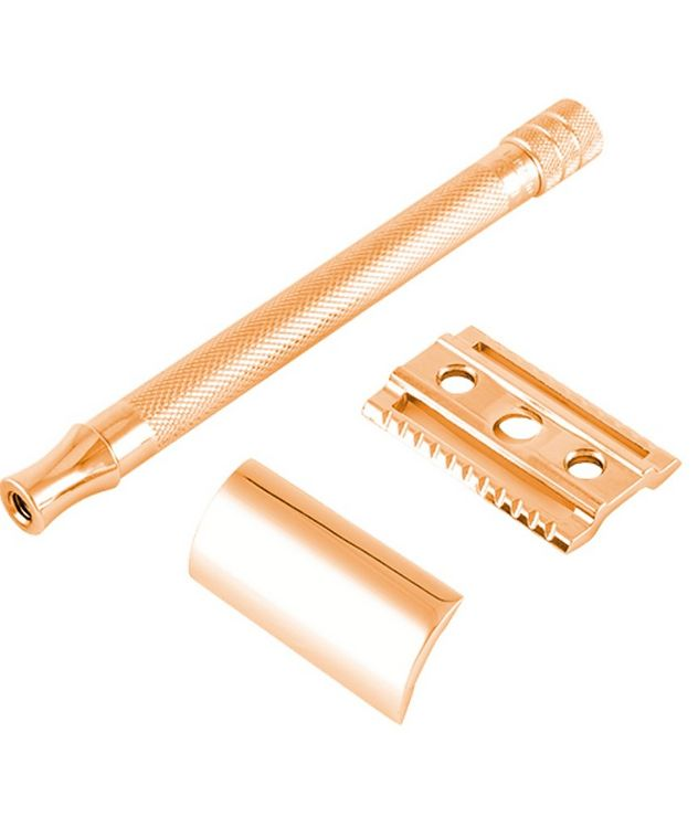 Double Edge Safety Razor, Straight Cut, Double Extra Long Handle picture 3