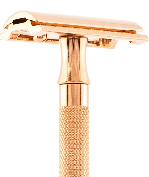 Double Edge Safety Razor, Straight Cut, Double Extra Long Handle picture 5