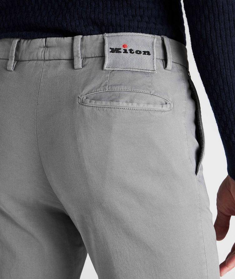 Stretch Cotton-Cashmere Chinos image 4