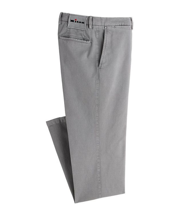 Stretch Cotton-Cashmere Chinos picture 1