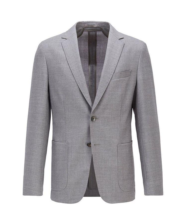 Nolvay1 Slim-Fit Wool Sports Jacket image 0