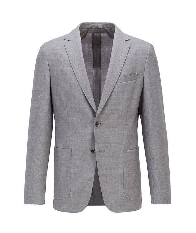 Nolvay1 Slim-Fit Wool Sports Jacket picture 1