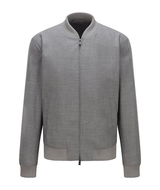 Virgin Wool Bomber Jacket picture 1