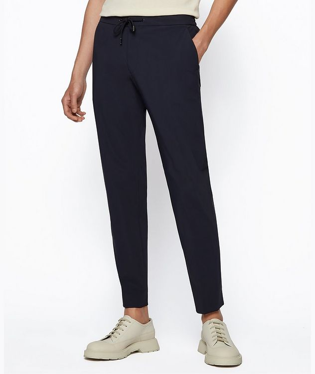 Banks4 Slim-Fit Drawstring Trousers picture 2