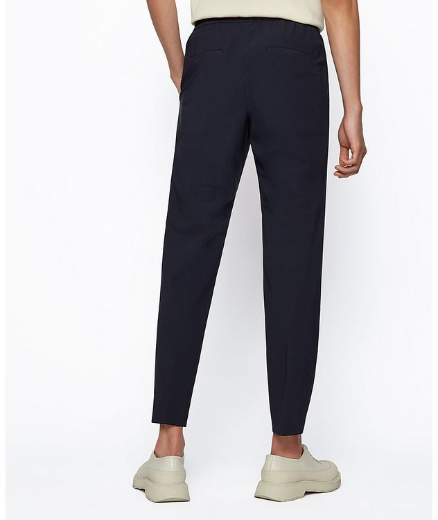 Banks4 Slim-Fit Drawstring Trousers picture 3