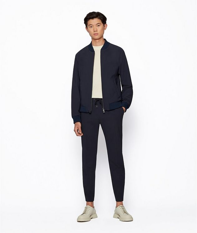 Banks4 Slim-Fit Drawstring Trousers picture 4