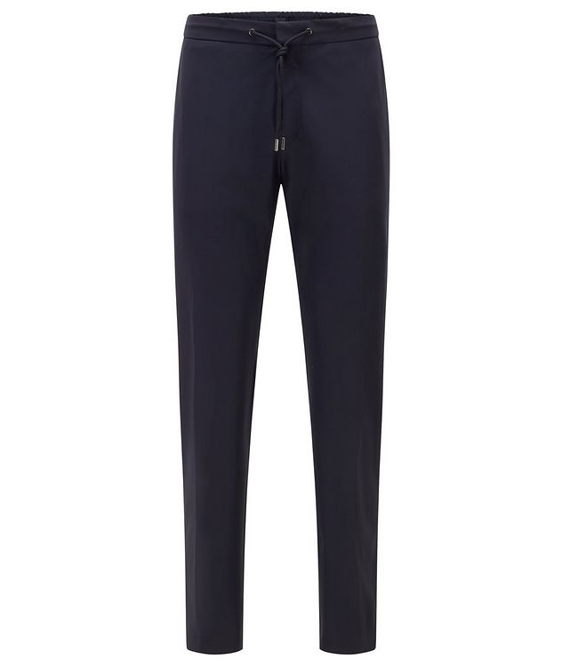 Banks4 Slim-Fit Drawstring Trousers picture 1
