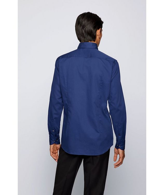 Slim-Fit Two-Tone Dress Shirt picture 3