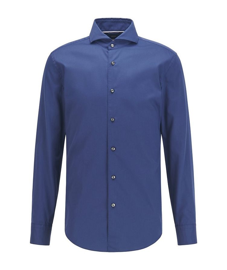 Slim-Fit Two-Tone Dress Shirt image 0