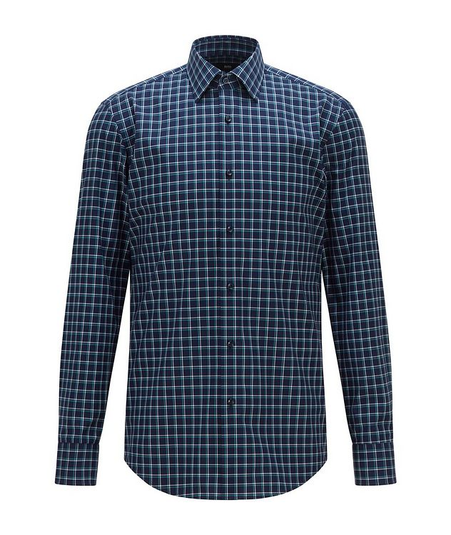 Jango Slim-Fit Cotton Dress Shirt picture 1