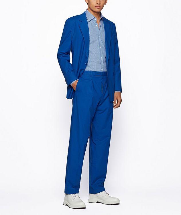 Jango Slim-Fit Cotton Dress Shirt picture 6