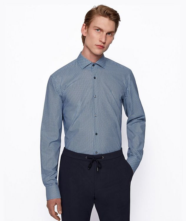 Gordon Lyocell-Cotton Dress Shirt picture 2