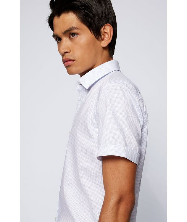 Short-Sleeve Printed Cotton Shirt picture 4