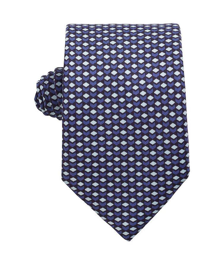 Traveller Silk Printed Tie image 0