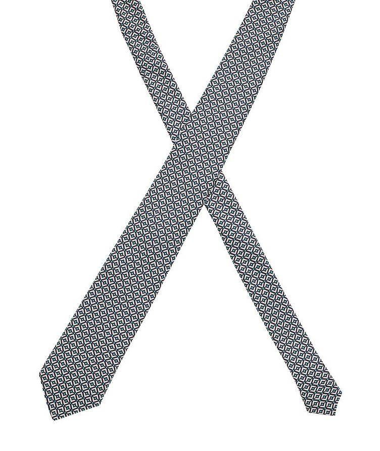 Traveller Silk Printed Tie image 1