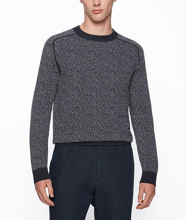 Howell Cotton-Blend Sweater picture 2
