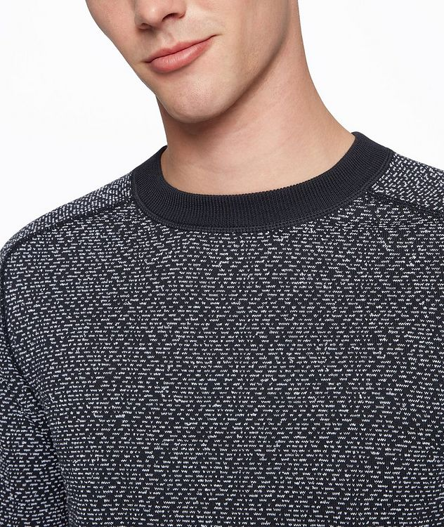 Howell Cotton-Blend Sweater picture 4