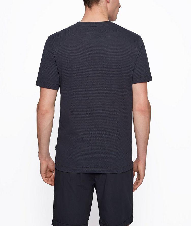 Tiburt Jacquard Cotton-Blend T-Shirt image 2