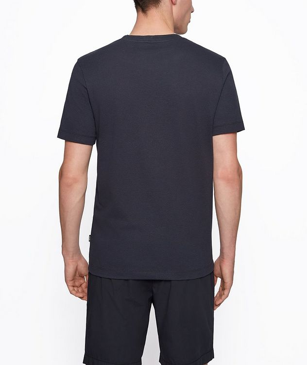 Tiburt Jacquard Cotton-Blend T-Shirt picture 3
