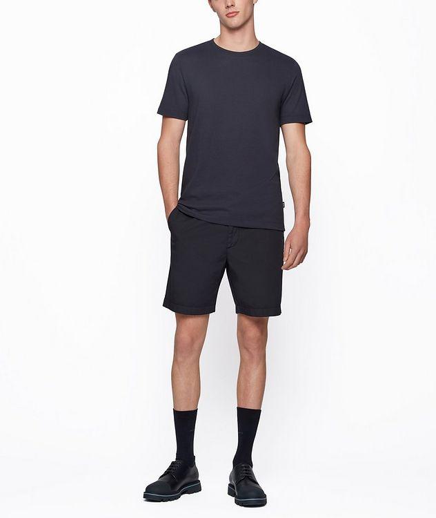 Tiburt Jacquard Cotton-Blend T-Shirt picture 4