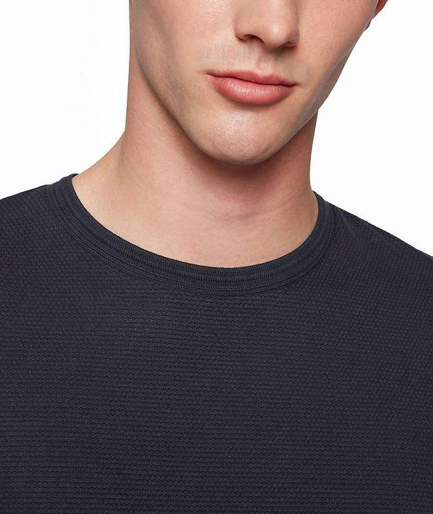 Tiburt Jacquard Cotton-Blend T-Shirt picture 5