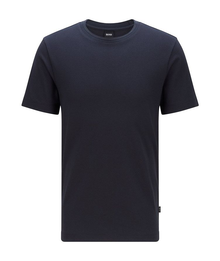 Tiburt Jacquard Cotton-Blend T-Shirt image 0