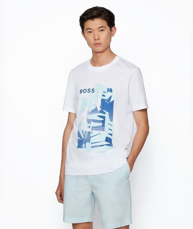 T-shirt Tibert imprimé en coton image 1