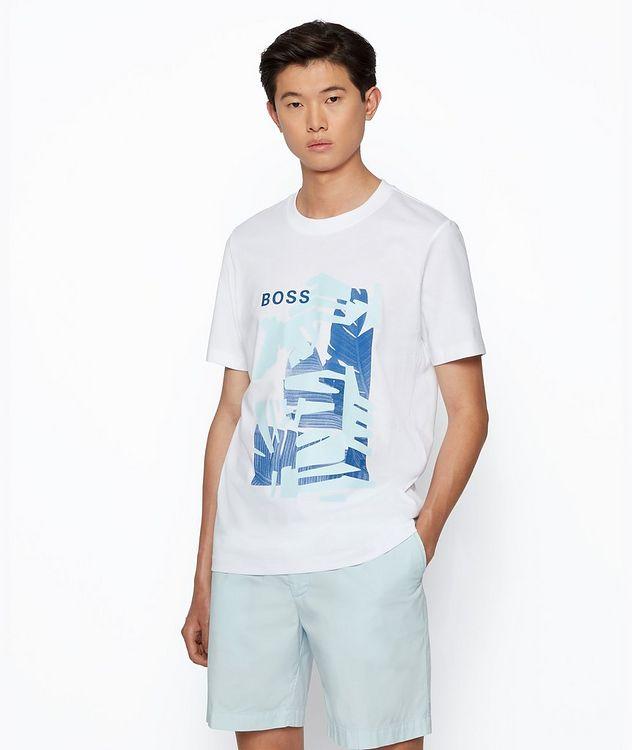 T-shirt Tibert imprimé en coton picture 2