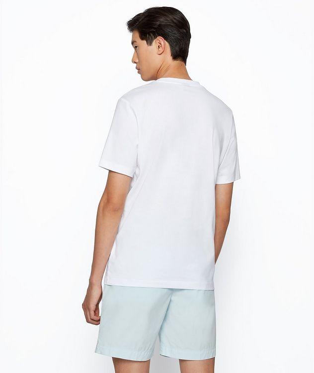 T-shirt Tibert imprimé en coton picture 3
