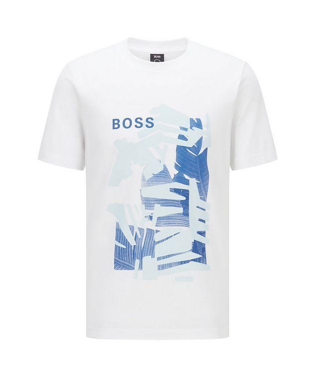T-shirt Tibert imprimé en coton picture 1