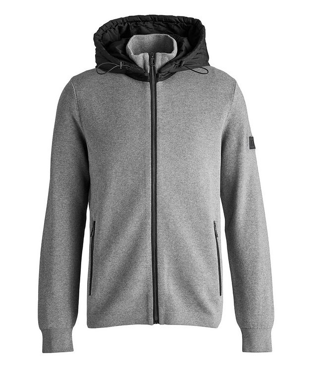Hughes Cotton Hoodie picture 1