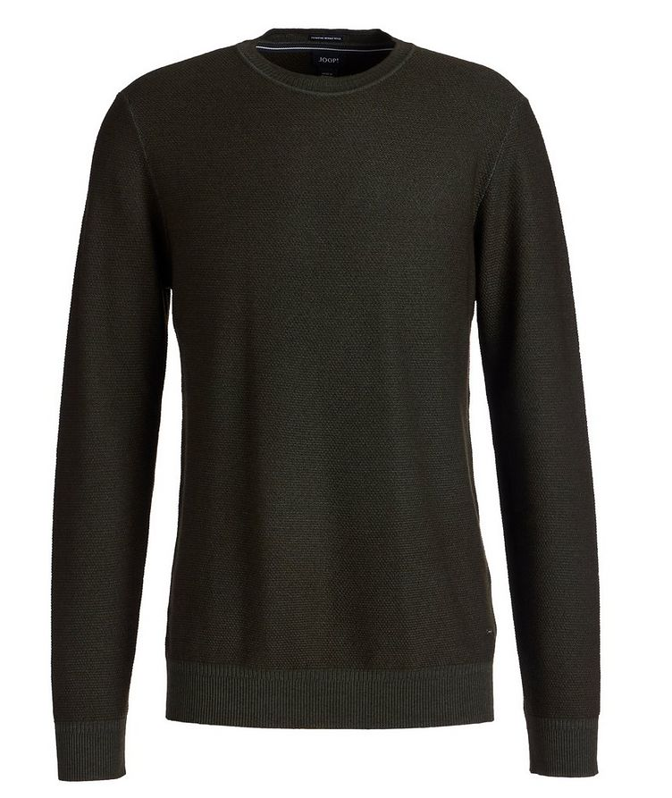 Merino Wool Knit Sweater image 0