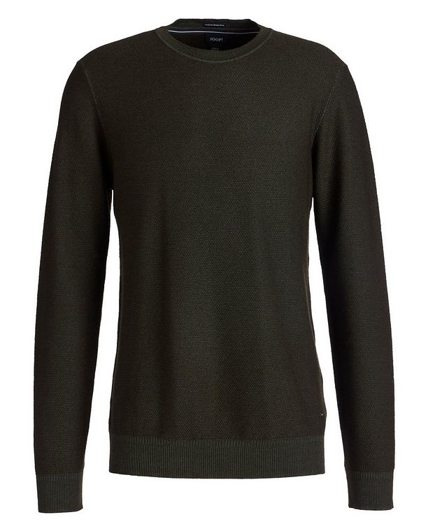 Merino Wool Knit Sweater picture 1
