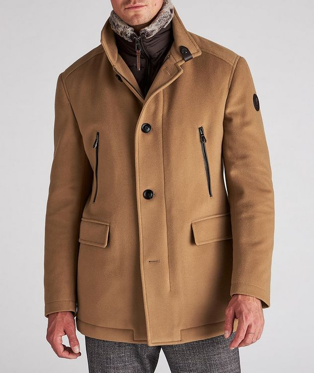 Wool-Cashmere Blend Stroller Coat picture 2