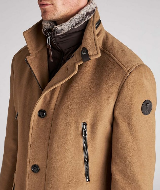 Wool-Cashmere Blend Stroller Coat picture 4