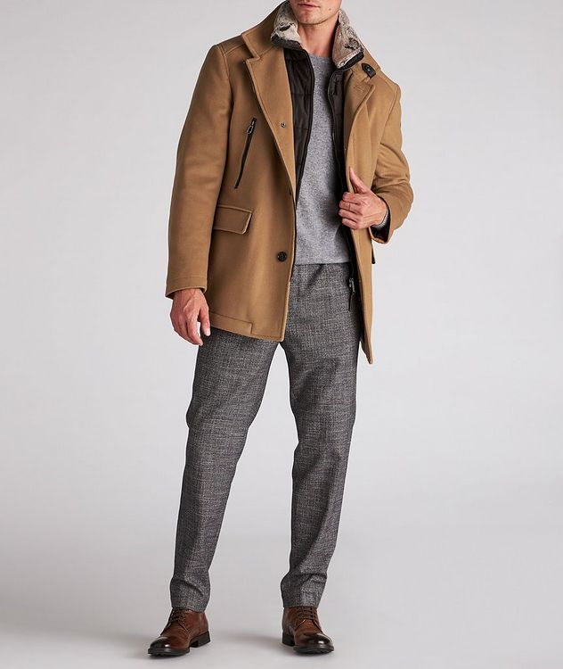 Wool-Cashmere Blend Stroller Coat picture 6