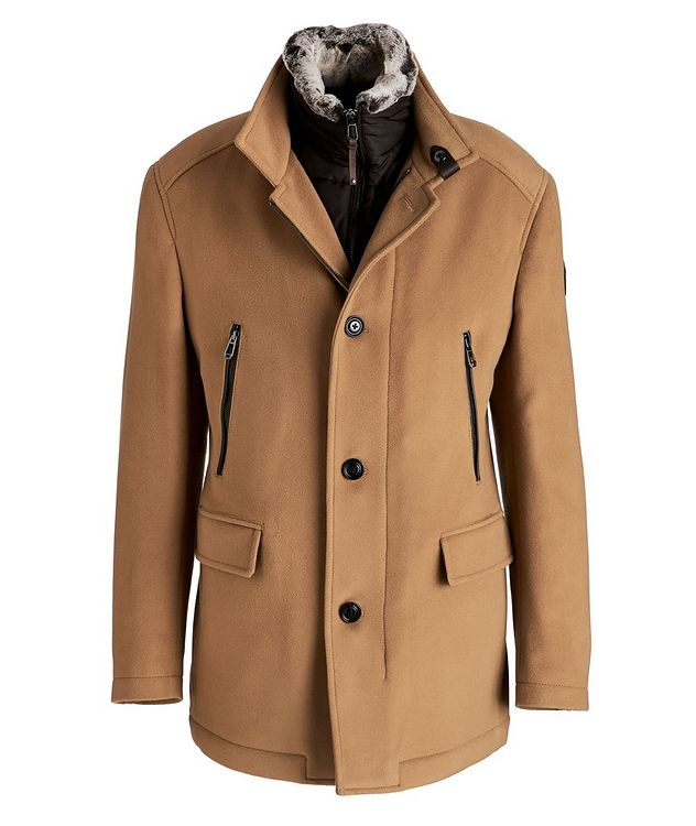 Wool-Cashmere Blend Stroller Coat picture 1