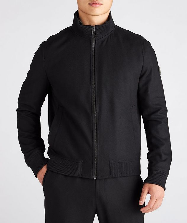 Ivon Wool-Blend Blouson Jacket picture 2
