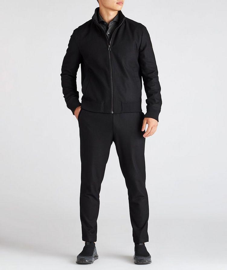 Ivon Wool-Blend Blouson Jacket image 4