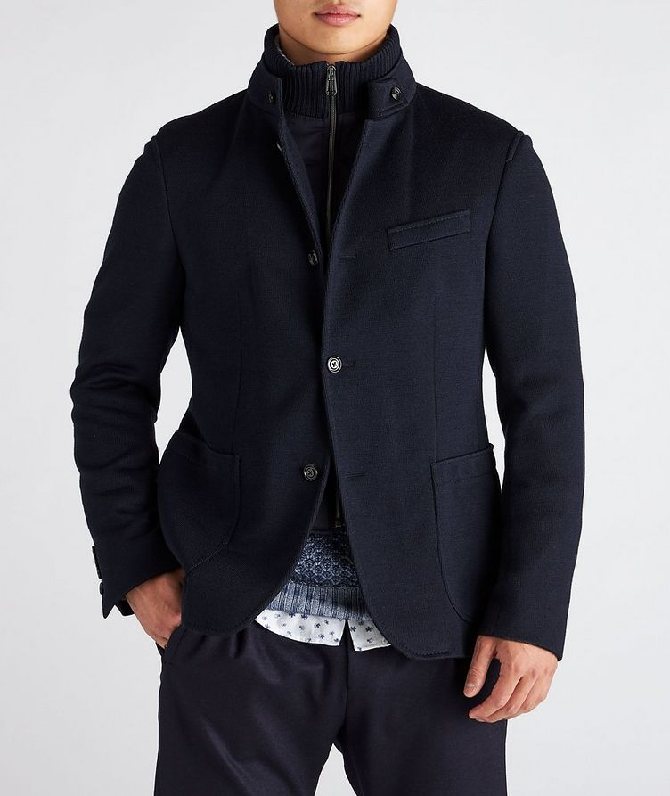 Slim-Fit Hectar Knit Sports Jacket image 1