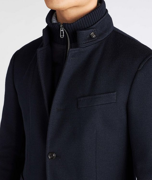 Slim-Fit Hectar Knit Sports Jacket picture 4