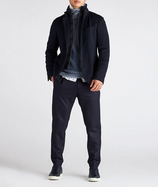 Slim-Fit Hectar Knit Sports Jacket picture 6