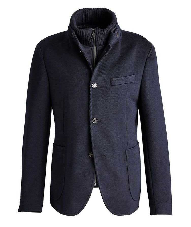 Slim-Fit Hectar Knit Sports Jacket image 0