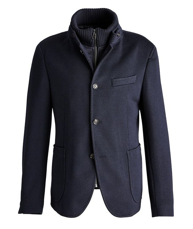 Slim-Fit Hectar Knit Sports Jacket picture 1
