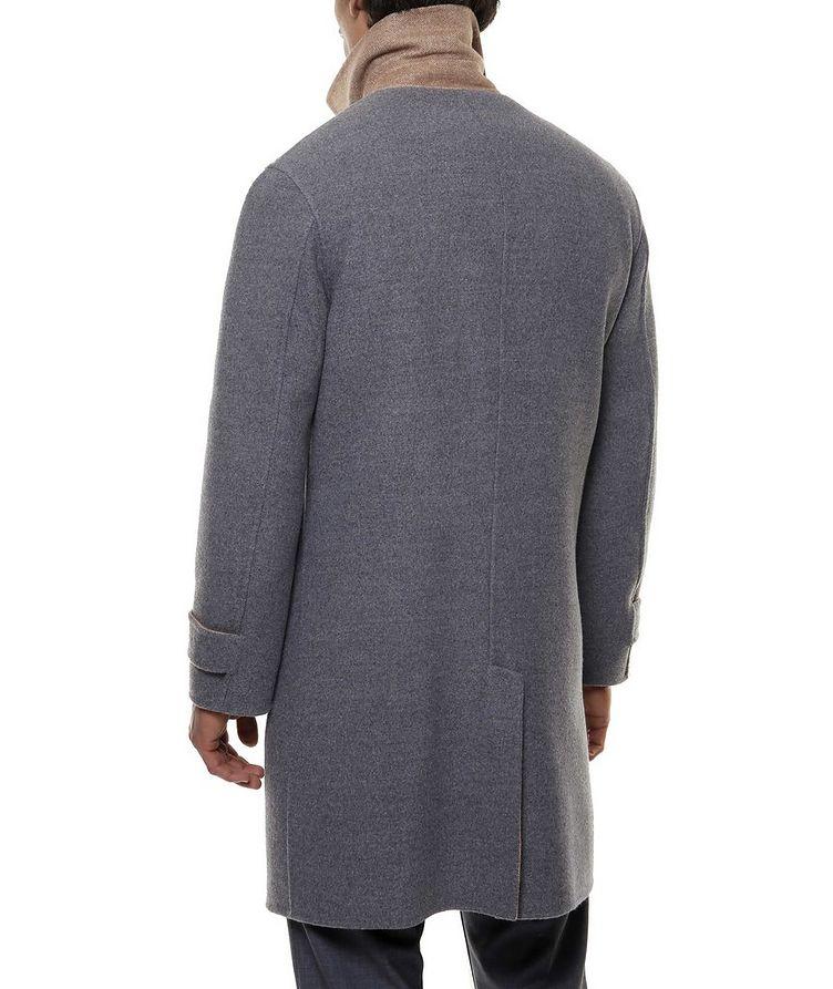 Reversible Wool Coat image 3