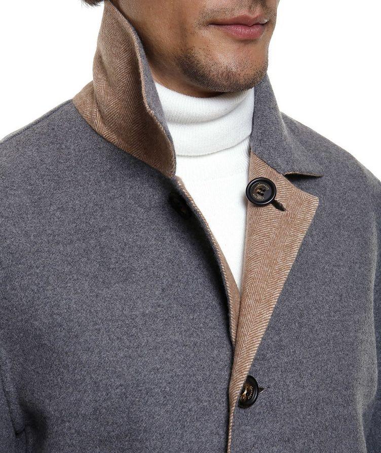 Reversible Wool Coat image 4